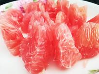 红心柚果肉