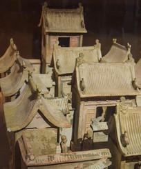 四合院陶瓷模型