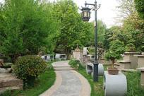 济南盆景奇石园景观