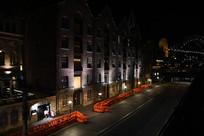 悉尼大桥周边建筑夜景