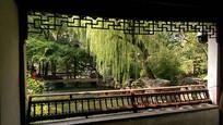 中式园林框景