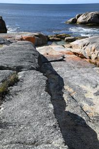 太平洋边岩石