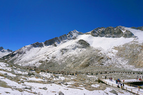 黑水达古冰川景区及观景栈道