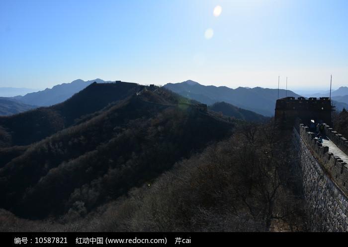 北京慕田峪长城风光图片