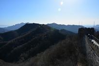 北京慕田峪长城风光