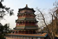 佛香阁楼塔