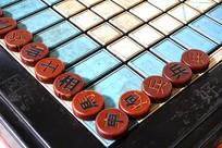 公共休闲娱乐设施固定象棋