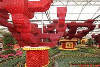 寿光菜博会国泰民安景观