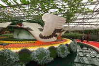寿光菜博会景观之飞翔的鸟