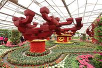 潍坊寿光菜博会景观之国泰民安