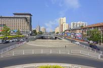 北京莲花池东路一带城市风光
