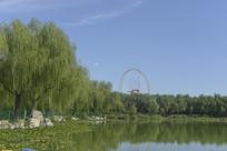 北京市龙潭西湖公园及摩天