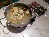 火锅汤料美食