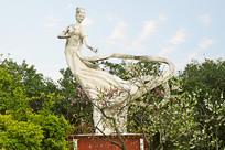 嫦娥岛仙子塑像