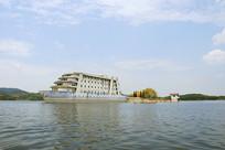 简阳龙泉湖景区轮船造型建筑