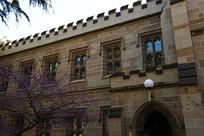 墨尔本大学古建筑外立面