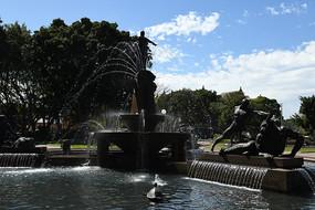 悉尼海德公园喷泉