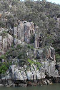 朗塞斯顿卡德奈特峡岩石