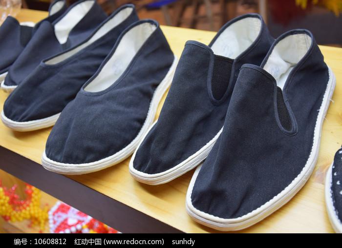 老式布鞋展示图片