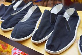 老式布鞋展示