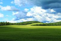 麦田村风景