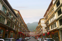 黔南荔波小七孔美食街