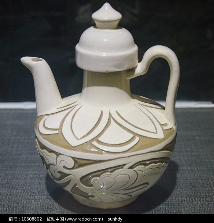 陶瓷酒壶图片