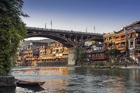 沱江凤凰城凤凰大桥