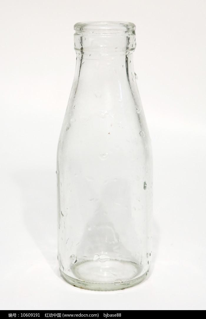牛奶玻璃空瓶图片
