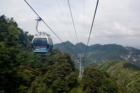 泰山索道观光旅游