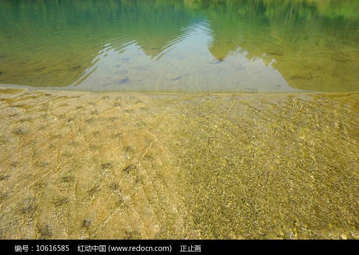 荔波小七孔上己定湖亲水河坝图片