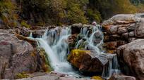 南太行山水瀑布风景照