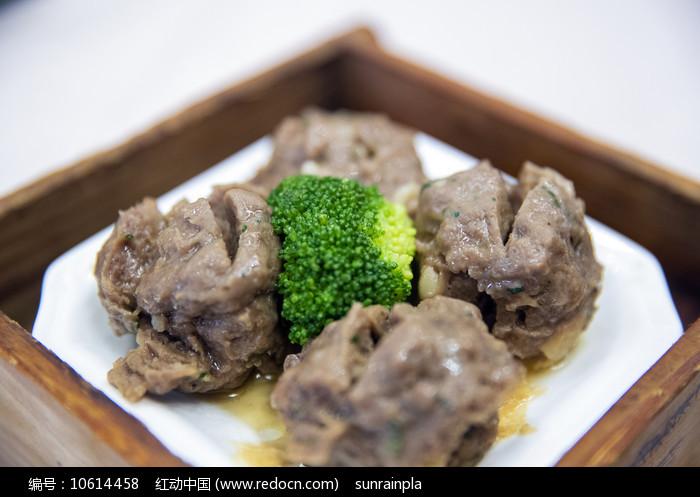 蒸牛肉丸图片
