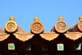 故宫屋顶琉璃瓦