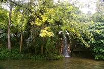 贵州天星天星盆景区的瀑布小景