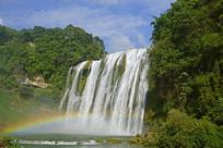 黄果树瀑布彩虹
