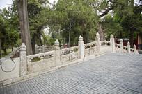 曲阜孔庙璧水桥风景
