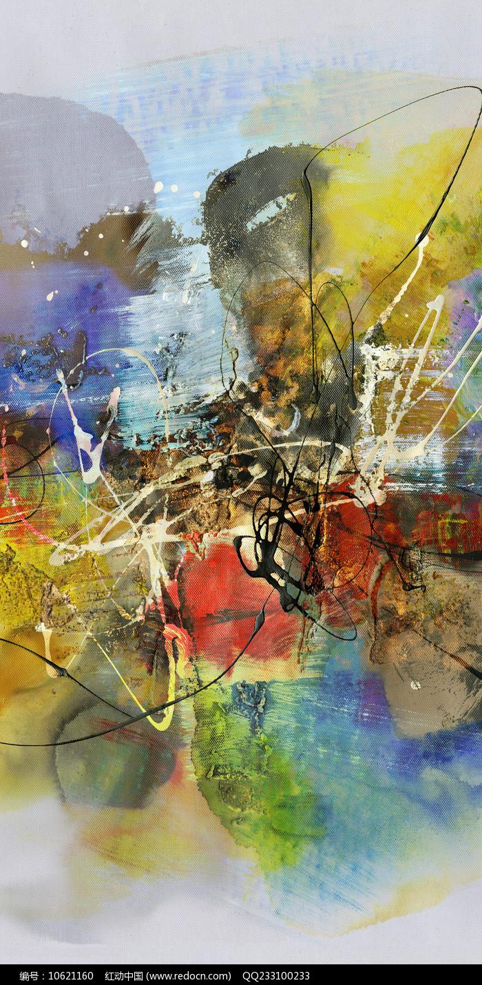 高雅的抽象油画艺术图片
