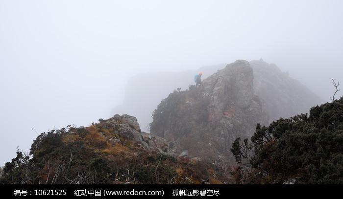 彭州三口锅的艰难登顶路图片