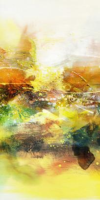 山水意境抽象画