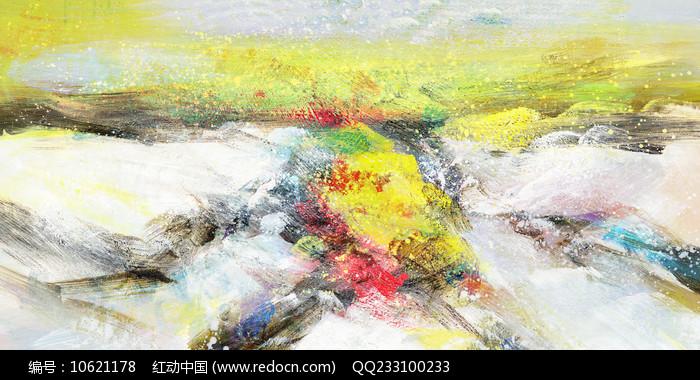 原创抽象油画作品图片