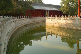 北京国子监辟雍环形水池
