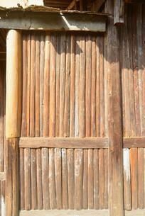 湖南武陵源山区的小木屋外景