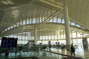 浙江杭州萧山国际机场候机厅