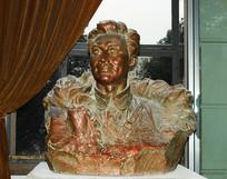 红军将领刘志丹塑像