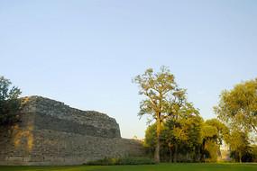 北京明城墙遗址公园景观