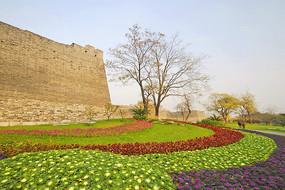 北京市明城墙遗址公园花园