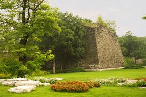 北京市明城墙遗址公园景观