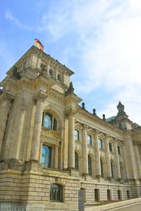 德国柏林市的国会大厦
