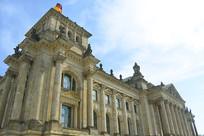 德国国会大厦建筑外景